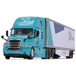 """2018 Freightliner Cascadia w/53' Dry Van Trailer """"GP Transco"""" (Teal/White)"""