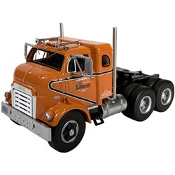1954 GMC 950 Cannonball Sleeper-Cab COE Tractor (Orange)