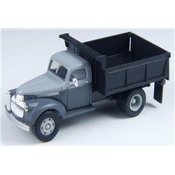 1941 Chevrolet Dump Truck (Nassack Gray w/Black Dump Body)