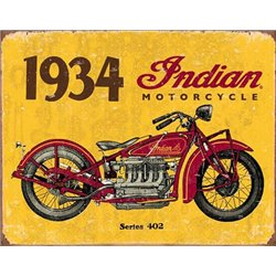 1934 Indian Motorcycles (Weathered)