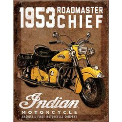 1953 Indian Roadmaster Motorcycle (Weathered)