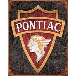 1930 Pontiac Logo (Weathered)