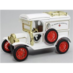 "1913 Ford Model T Van ""Ambulance"" (White)"