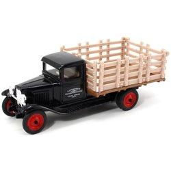 "1930 Chevy Stake Truck ""Livestock"" (Black)"