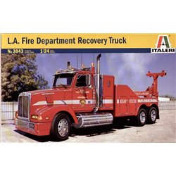 """Western Star Recovery Tow Truck """"LAFD"""" (Model Kit)"""