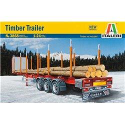 Timber Logging Trailer (Model Kit)