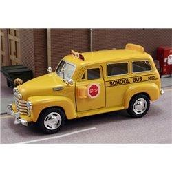1950 Chevy School Bus (Yellow)