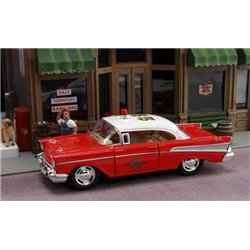 1957 Chevy Bel Air Fire Chief Car