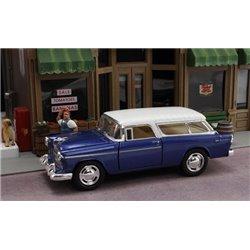 1955 Chevy Nomad (Blue/White)