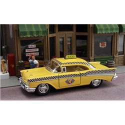 1957 Chevy Bel Air Taxi (Yellow)