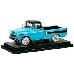 1958 Chevrolet Apache Cameo Pickup (Tarton Turquoise/Black