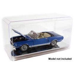 1/24th Scale Auto Display Case (Mirrored Bottom)