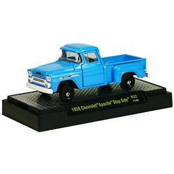 1958 Chevrolet Apache Step Side Pickup Truck (Blue)