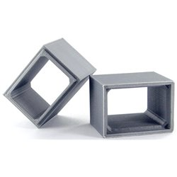 Concrete Box Culvert - 2-Pack - Gray