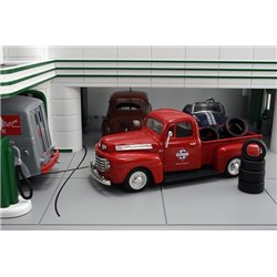 "1948 Ford F1 Pickup ""Skelly"" w/Tire Load"