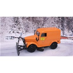 1950's State Highway Dept. Truck w/Snow Plow