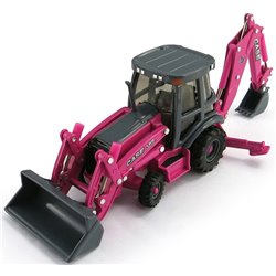 Case 580 Super N WT Loader Backhoe (Pink)